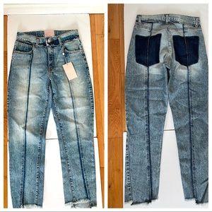 NWT Revice denim/ jeans high waist